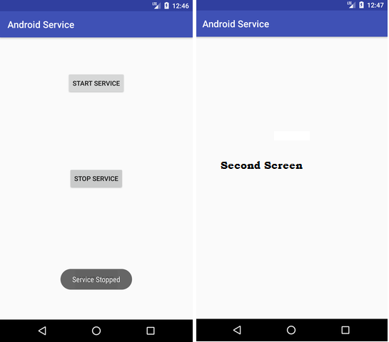 Codeplayon Android Service Tutorial