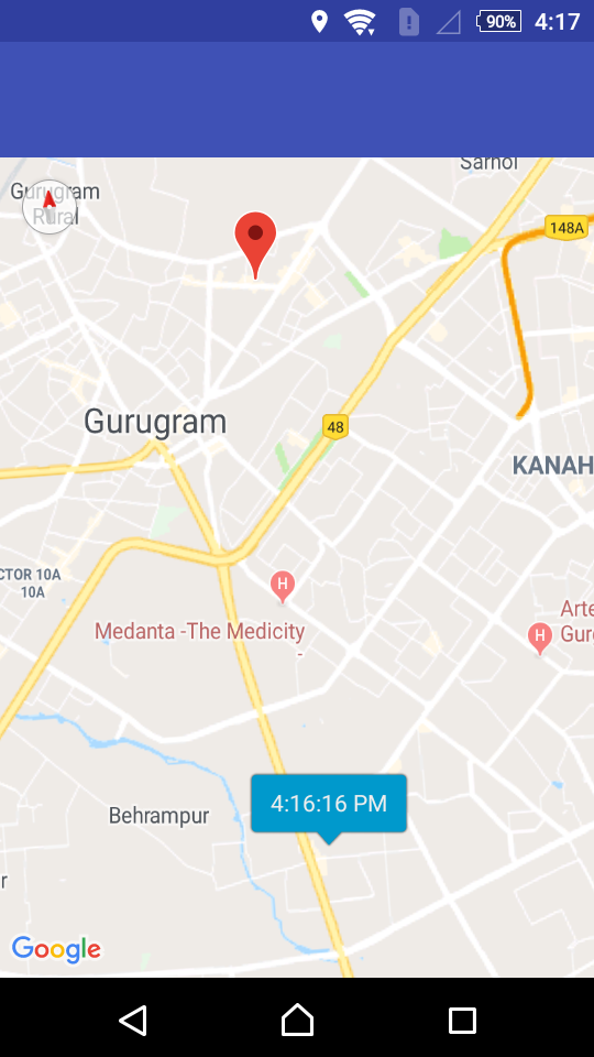 google maps distance calculator android