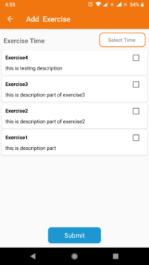 checked checkboxes from recyclerview android