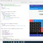 simple flutter calculator app